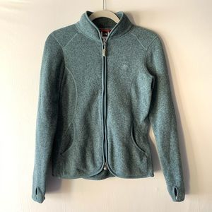 NWOT Rare North Face Cyan Jacket Size S